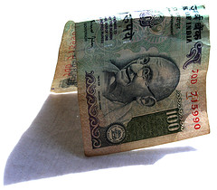 Indian Rupee Note